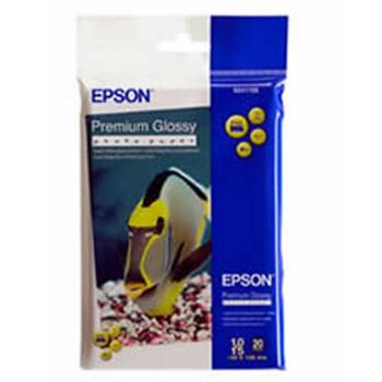 "EPSON PREMIUM GLOSS PHOTO PAPER 4""X6"" 20 SHEETS (S041706)"
