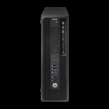 HP DEMO Z240 SFF Desktop PC E3-1225v5 16GB 256GB SSD 1TB HDD Quadro P600 Win10 Pro