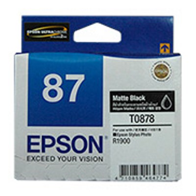 Epson C13T087890 Matte Black Ink Cartridge