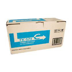 Kyocera TK-574C Cyan Toner for to suit Printer:  FS-C5400DN (12,000 page Yield)