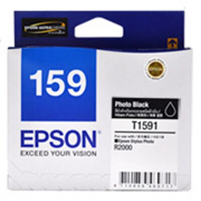 Epson C13T159190 Photo Black ink cartridge for Stylus Photo R2000