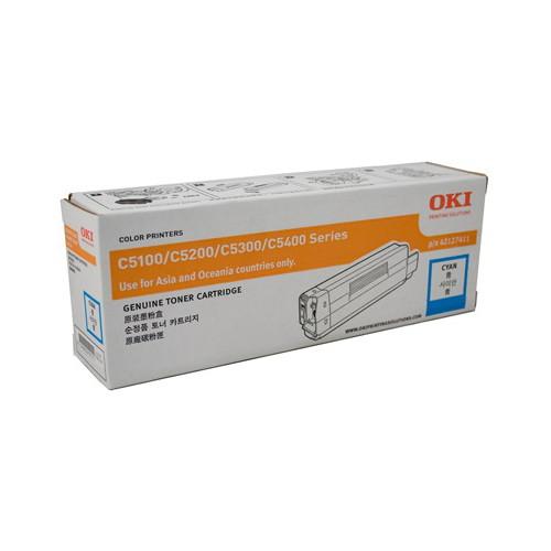OKI Cyan Toner Cartridge (5000 Yield)