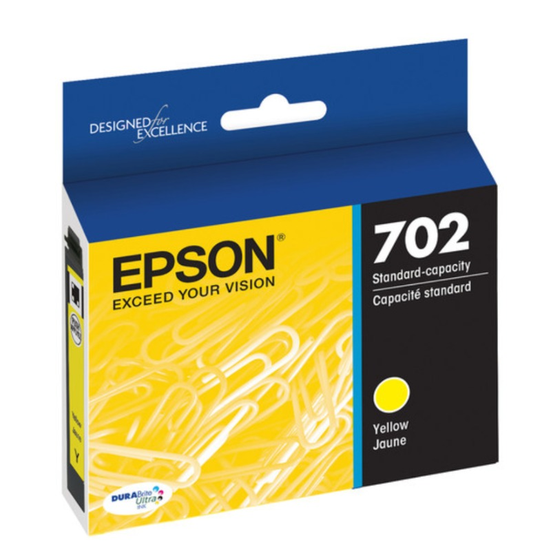 Epson C13T344242 Standard Yield 702 Yellow DURABrite Ink Cartridge