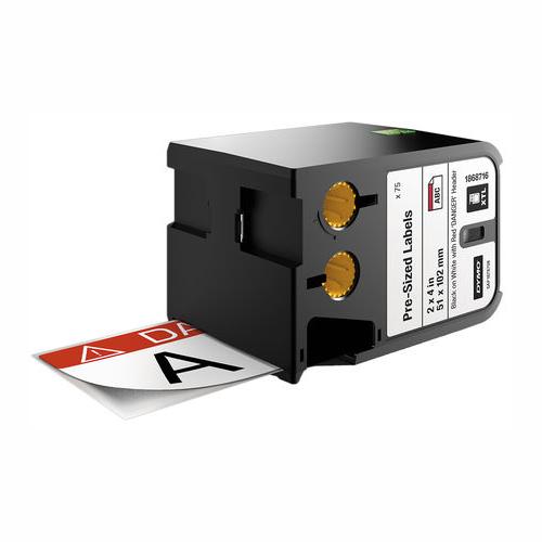 DYMO XTL 51x102 Danger RTK Tape
