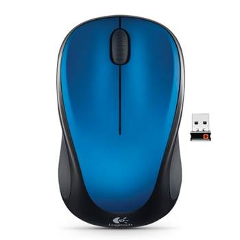 Logitech 910-003392 M235 Wireless Mouse, Blue
