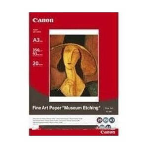 Canon FAME1A3+ 20 Sheets, 350gsm, Fine Art Museum Etching
