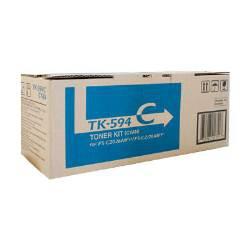 Kyocera TK-594C Cyan Toner for FS-C2126MFP/FS-C2026MFP/M6526CIDN (5,000 Yield)