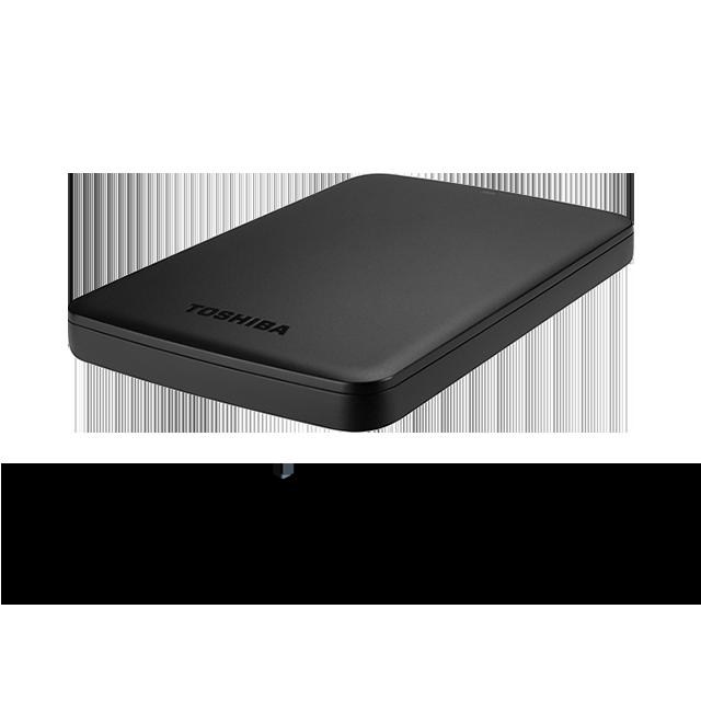 Toshiba HDTB410AK3AA Canvio Basics 1TB USB External Hard Drive