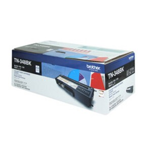 Brother TN-348BK Black Toner Cartridge (6,000 Yield @ 5%)