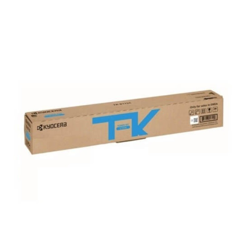 Kyocera TK-8119C Cyan Toner Cartridge (6,000 pages)