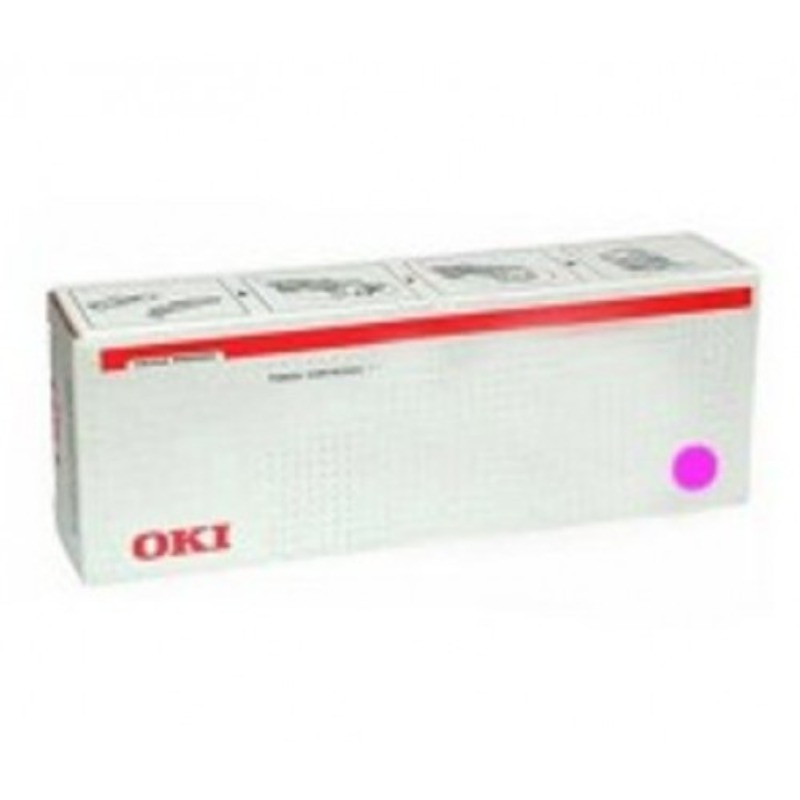 OKI 45536518 Toner Cartridge Magenta for C911, C931, C941 (38,000 pages)