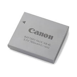 Canon NB4L Lithium Ion Battery