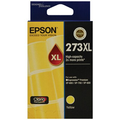 Epson C13T275492 High Capacity Claria Premium Yellow ink (Yields up to 650 pages)