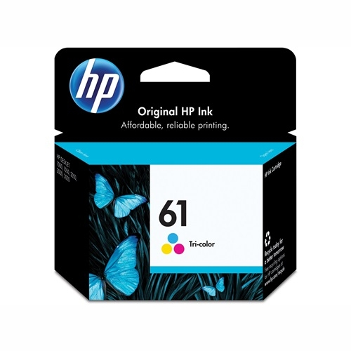HP CH562WA #61 Tri Colour Ink Cartridge (165 page yield)