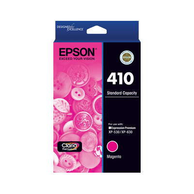 Epson C13T338392 Std Capacity Magenta Ink Cartridge (Yields up to 300 pages)