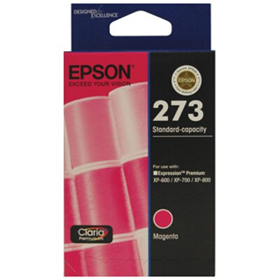 Epson C13T273392 Std Capacity Claria Premium Magenta ink (Yields up to 300 pages)