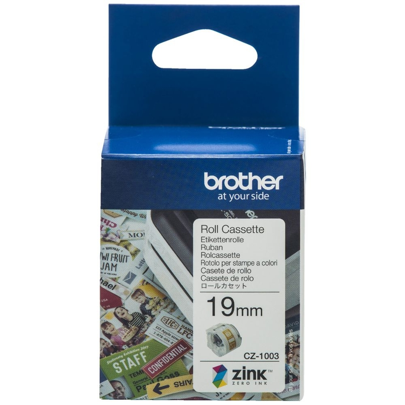 Brother CZ-1003 19mm Cassette Roll, 5m Length
