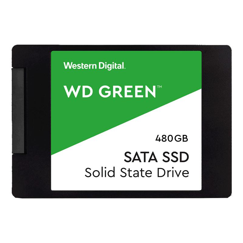 Western Digital WDS480G2G0A Green 480GB, 480 GB 2.5 Inch 3D NAND SSD