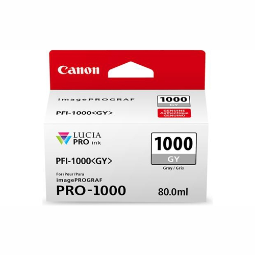 Canon PFI1000GY Grey Ink Tank (Yield, up to 106 pages)