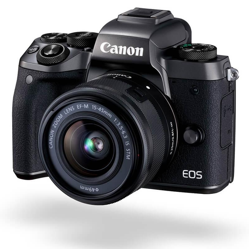 Canon M5KIS, EOS M5 Mirrorless Camera Single kit with EFM15-45ST