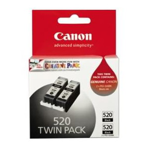 Canon TWIN PACK of PGI520BK Cartridges