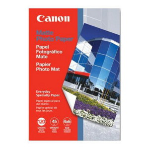 Canon MP-101 Medium Weight (170gsm) Bright premium matte finish 4X6 Photo Paper, 120 Sheets
