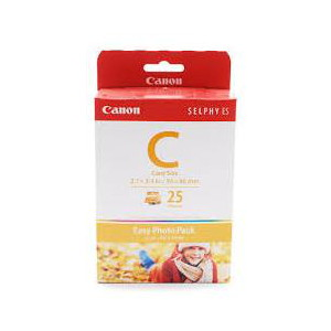 Canon EC25 Easy Photo Pack Credit Card Size - 25 sheets to suit ES1