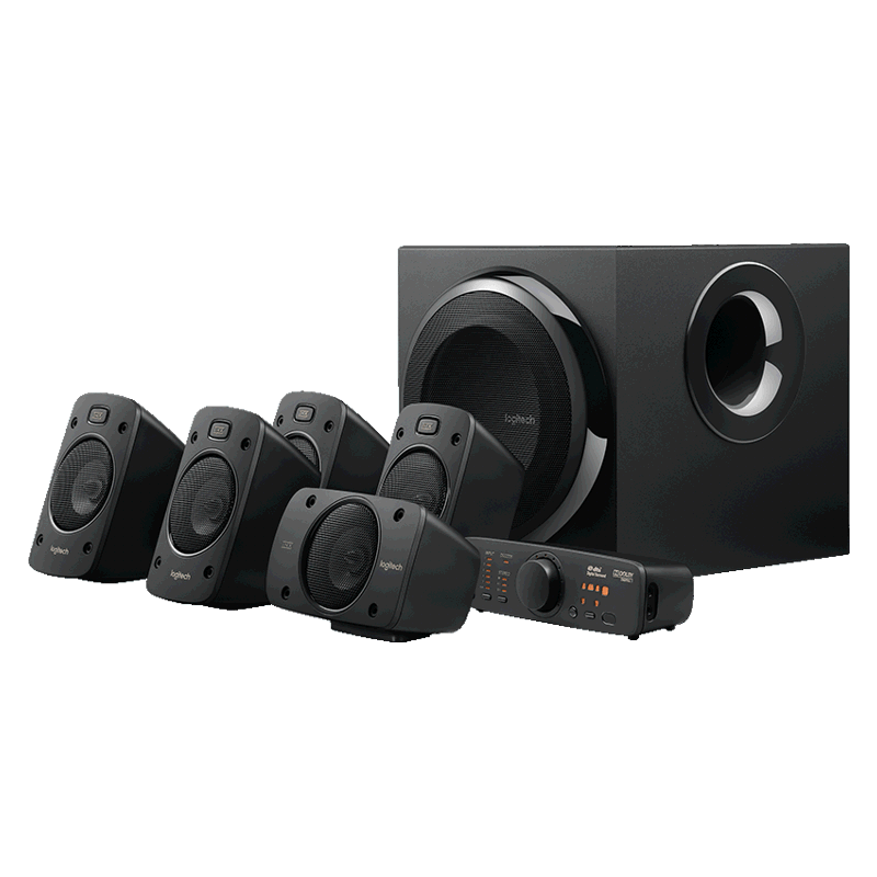 Logitech 980-000470 Z906 Surround Sound Speakers