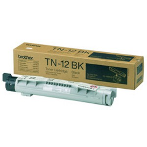 Brother TN-12BK Black Toner Cartridge for HL-4200CN (9000 Yield)
