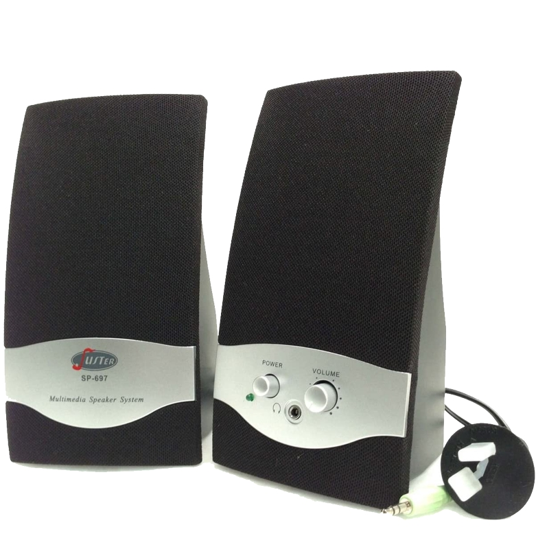 Juster SP-697 Multimedia Speakers, AC Power