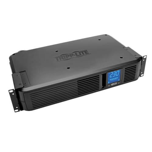 Tripp Lite SMX1500LCD SmartPro 1500VA Line Interactive 2U Rack/Tower UPS, LCD, USB, DB9, 8xC13