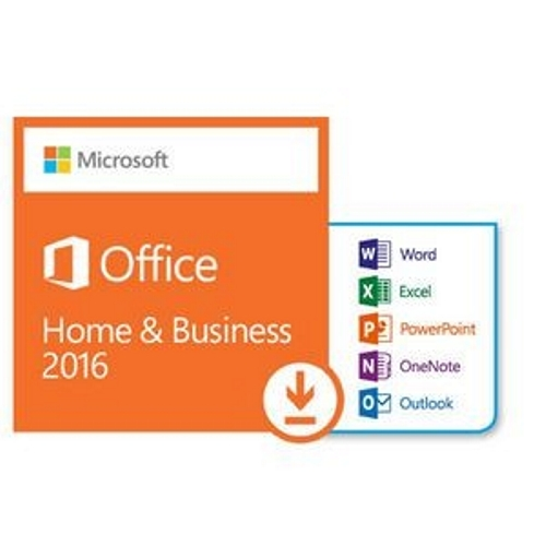 Microsoft (T5D-02877) Office 2016 Home and Business (PC), Product Key