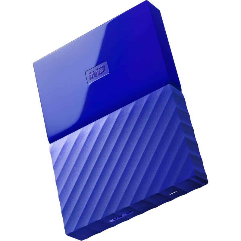 Western Digital My Passport 2TB External USB 3.0 Portable HDD - Blue