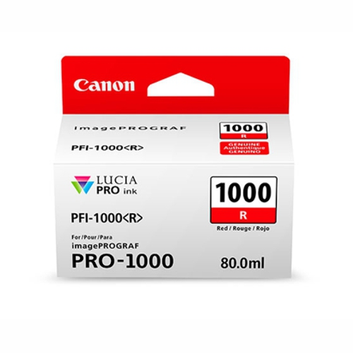 Canon PFI1000R Red Ink Tank (Yield, up to 935 pages)