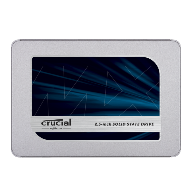 Crucial MX500 2.5 Inch SATA (560MB/s Read / 510MB/s Write) - 250GB, 5Yr