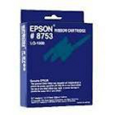 Epson C13S015052 Black Fabric Ribbon Cartridge to suit LQ-1500