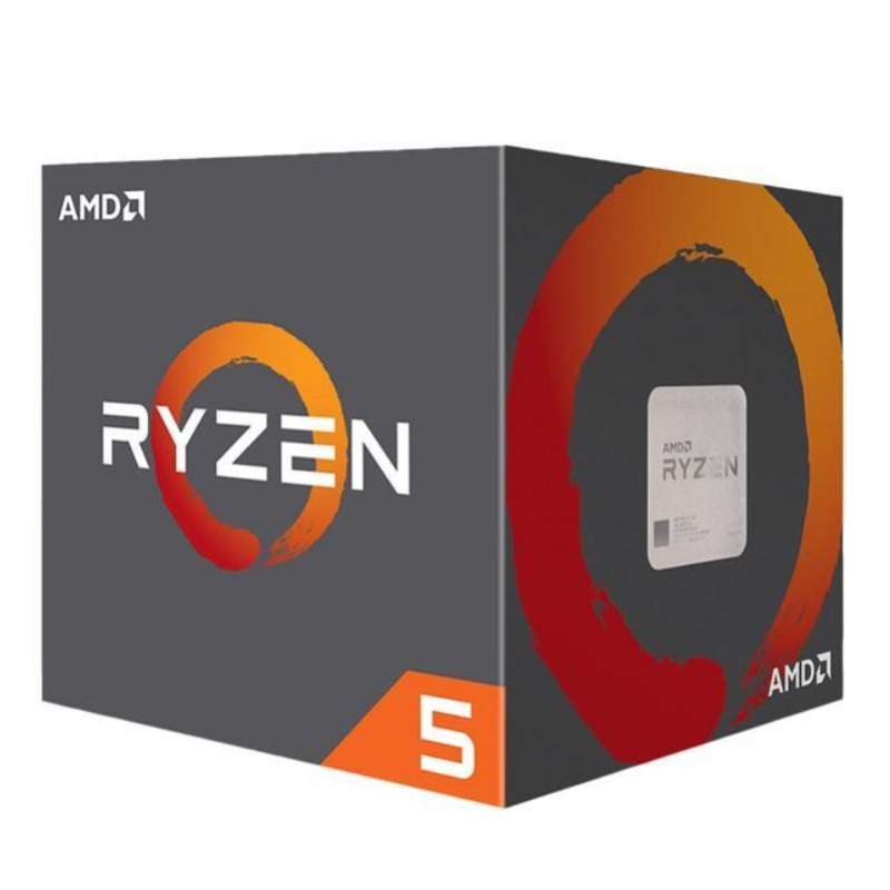 AMD Ryzen 5 2600X, 6-Core/12-Thread, Unlocked, 4.25GHz, Socket AM4 with Wraith Spire cooler