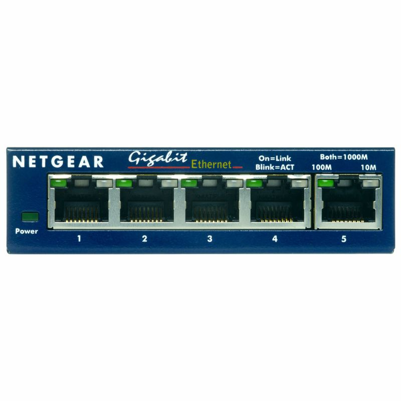 Netgear GS105 5-Port 10/100/1000 Switch