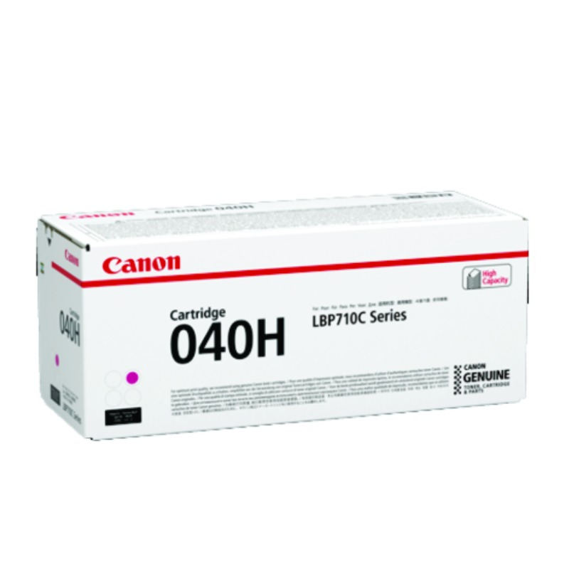 Canon CART040MII, Magenta Toner Cartridge to suit LBP712CX (Yield, up to 10,000 pages)