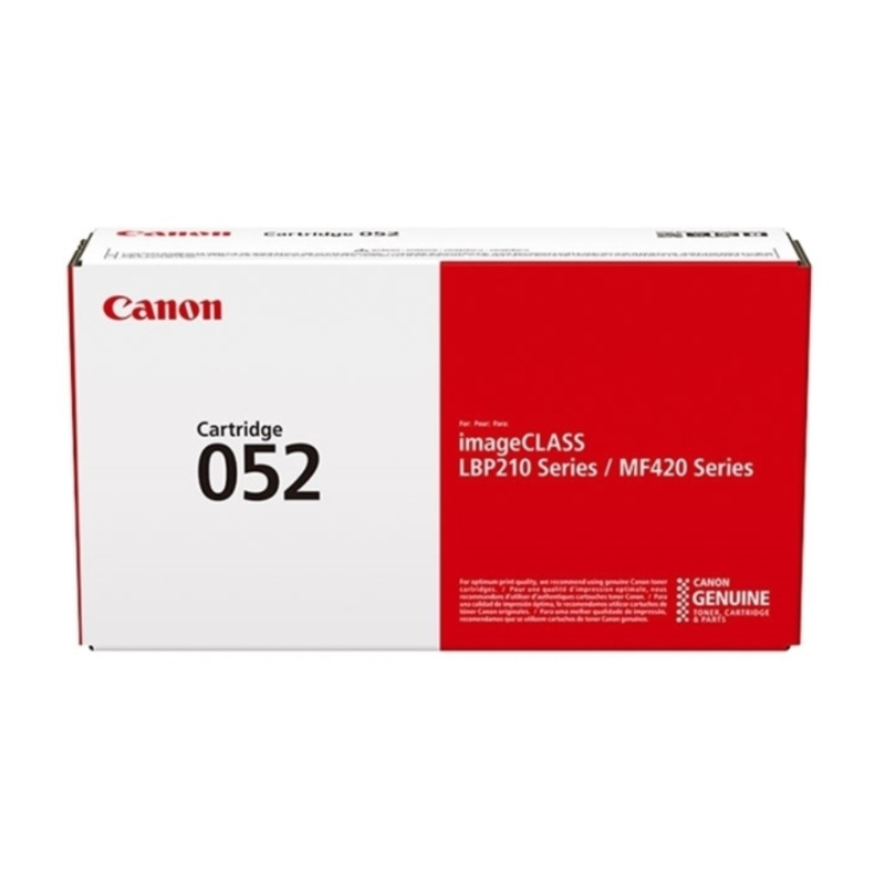 Canon CART052 Black Toner (3,100 Yield)