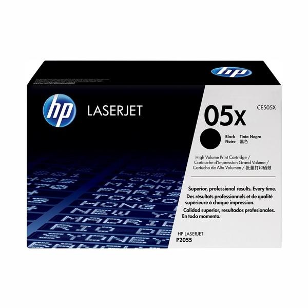 HP CE505X #05X High Yield Black Toner (6,500 Yield)