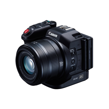 Canon XC10128GB 4K Pro Camcorder Bundle