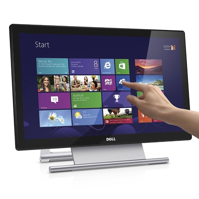 Dell S2240T 21.5 Inch Touch LED, 16:9, 1920x1080, 12ms, VGA, HDMI, DP, USB, 3Yr