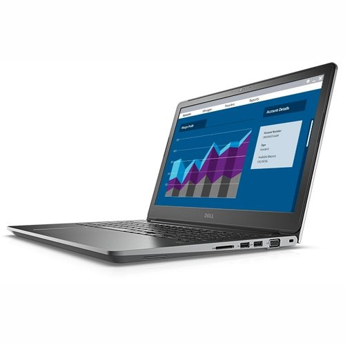 Dell Vostro 5568,Core i5-7200U 2.5/3.1Ghz,8GB,256GB SSD,15.6 Inch FHD,GF-4GB,No Optical,Win 10 Pro 64