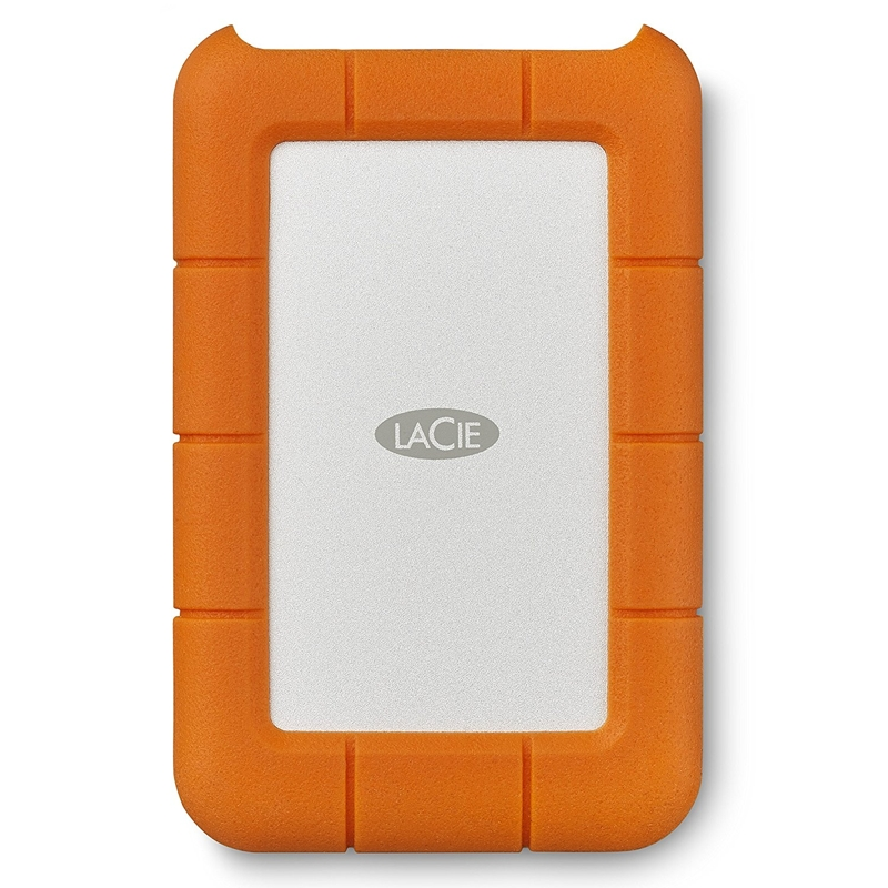 LaCie STFR2000800 2TB Rugged USB-C Portable Drive