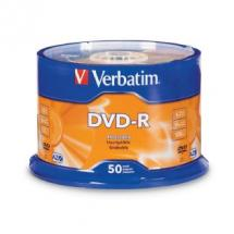 Verbatim 95101 DVD-R 4.7GB 50Pk Spindle, 16X