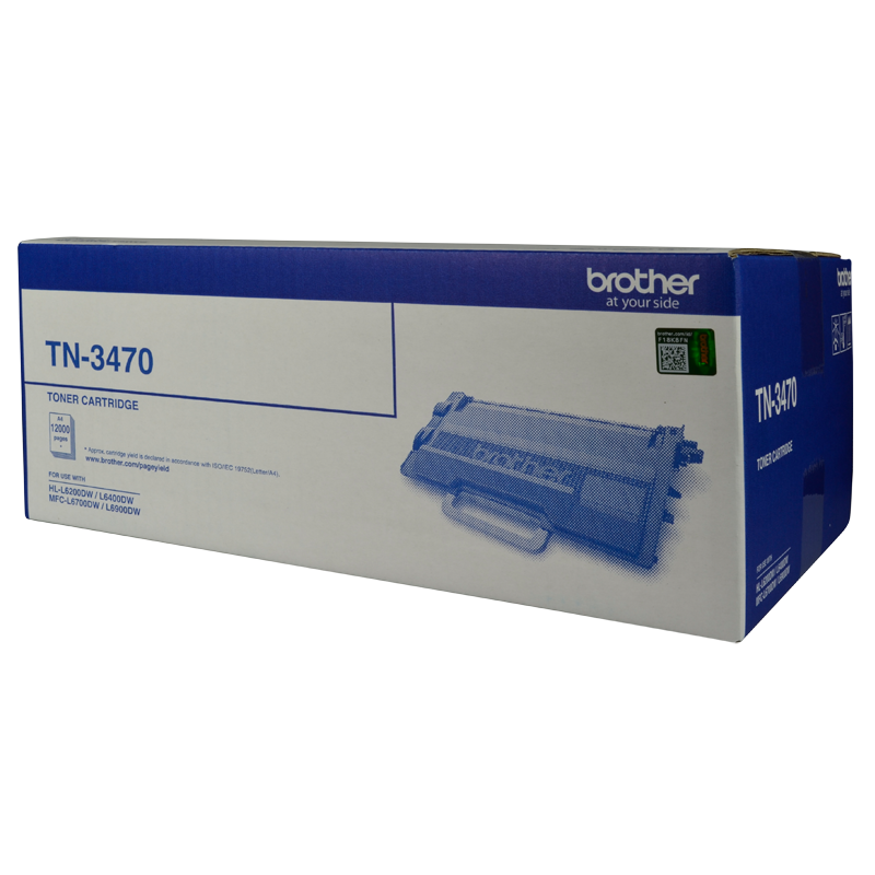 Brother TN-3470 Toner Cartridge, 12 000 yield