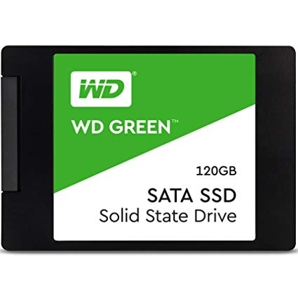Western Digital WDS120G2G0A Green NAND 2.5 Inch 120GB SSD, SATA Interface