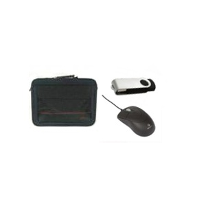15 Inch Carry Bag, Notebook Laser Mouse and 8GB USB Flash Drive