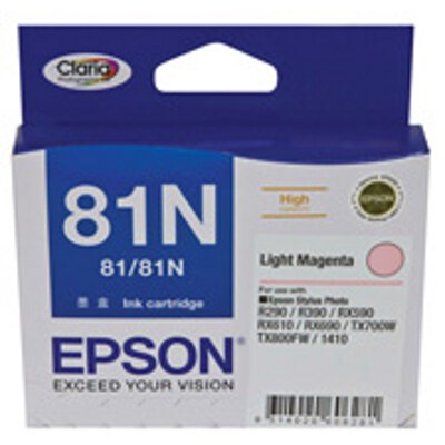 Epson C13T111692 High Capacity Light Magenta Cartridge (same as C13T081690)(Yields up to 855 pages)